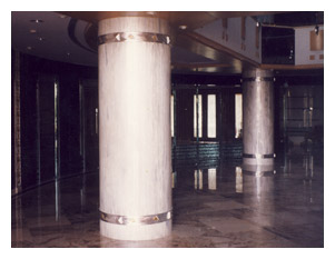 Solyx Solid Surface Pillars Designs